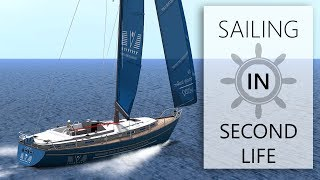 Second Life is a Great Sailing Simulator, Overview and Short Trip on My Liveaboard Boat