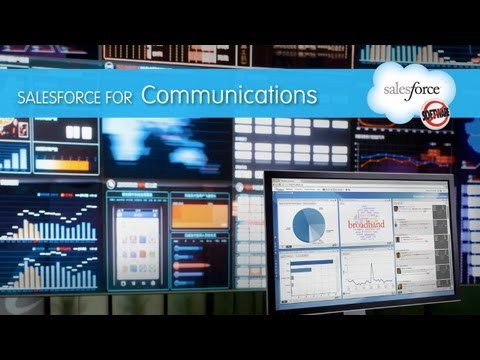0 Salesforce Solutions Demo   Communications Industry