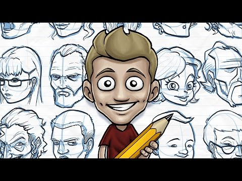 Draw with Jazza - FUN WITH FACES!