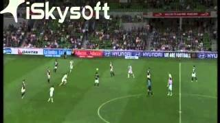 Adrian Leijer - Melbourne Victory vs. Perth Glory