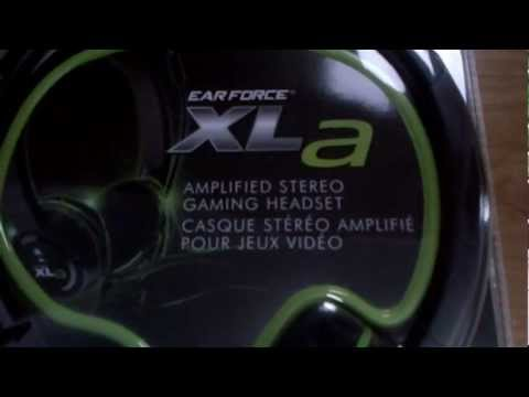 Turtle Beach Ear Force XLa Headset Review/Unboxing