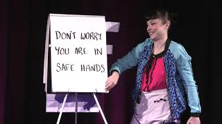 What this girl does with a flipchart will SHOCK YOU!