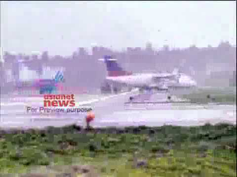 www.dweepdiary.com - Air india Agatti Island Lakshadweep Narrow Escaping.flv