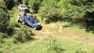 Suzuki Jimny and Nissan Patrol off road