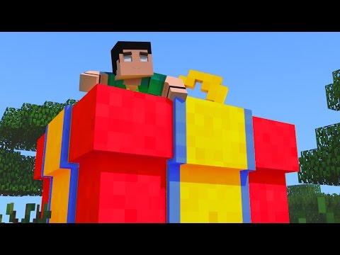 Minecraft - DINOCRAFT! #26 UM PRESENTE PARA MEU AMIGO!