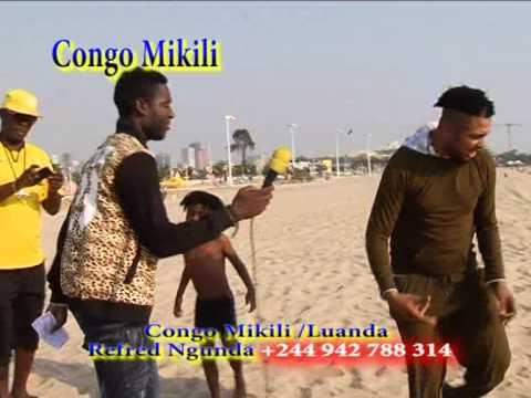 refred ngunda face a nickens bayaka loba pona nini aza na luanda et sapeur congolais