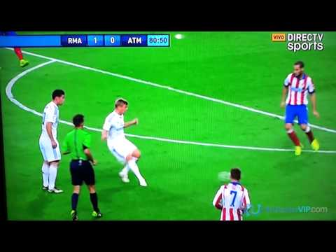 Primer Gol de James Rodriguez en el Real Madrid Vs Atletico de Madrid