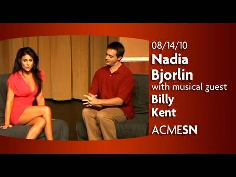 Nadia Bjorlin hosts ACME SATURDAY NIGHT Video