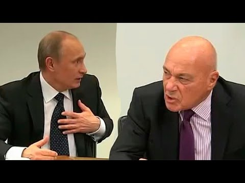 Познер пререкается с Путиным!
