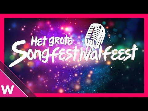 Het Grote Songfestivalfeest 2019 Recap and Trailer