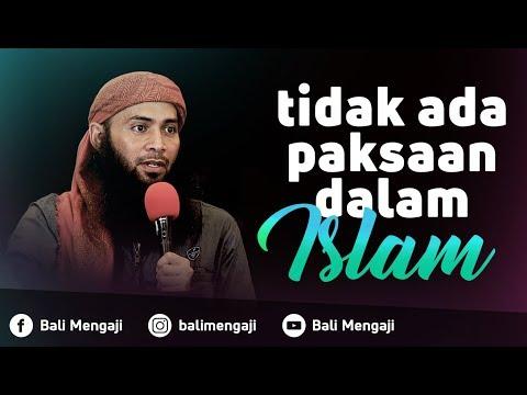 Video Singkat: Tidak Ada Paksaan Dalam Islam - Ustadz Dr. Syafiq Riza Basalamah, MA