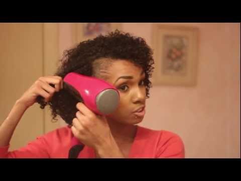 CURLY HAIR WASH AND GO TUTORIAL