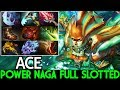 ACE [Naga Siren] Power Of Naga Full Slotted Cancer Hero 7.21 Dota 2