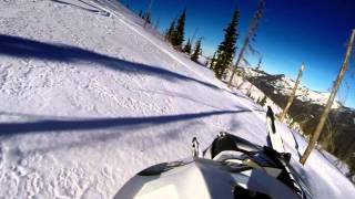 GoPro Hero3+  Snowmobiling (Avery, Freezeout Saddle Idaho)