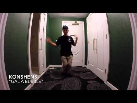 gal A Bubble - Konshens | Joesar Alva (freestyle) video