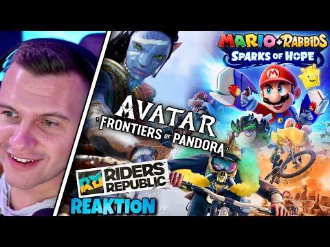 AVATAR + MARIO + Riders Republic NEUE Spiele Trailer - ZOQQER Reagiert