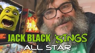 Jack Black Sings All Star Shrek Meme (Jablinski Games)🎤😄👌🎮