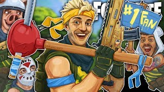NINJA, WILDCAT & DELIRIOUS - THE ULTIMATE SQUAD! - Fortnite Battle Royale!