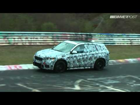First BMW X1 (F48) Nurburgring Testing Video