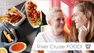 European RIVER CRUISE FOOD! (What to expect)