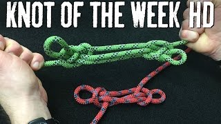 Shorten or Bypass a Damaged Section of Rope with the Sheepshank - ITS Knot of the Week HD