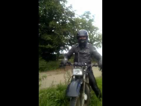 In Me Grungy Biker Leather Jacket On Ma Mtx 125 video