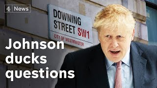 Boris Johnson boosted by new cabinet backer – but misses another leadership hustings