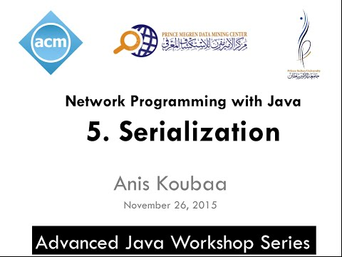 [Java Workshop Series] Java Network Programming : Serialization