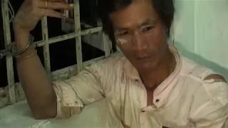 113 trấn áp tên ngáo đá ở An Giang