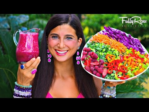 FullyRaw HOT PINK D�samleg  Salat Dressing!