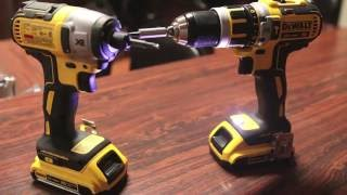 DEWALT 20V Brushless Drill & Impact Drill - Demo / Quick Review