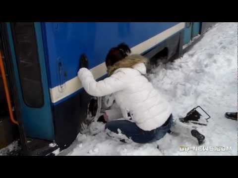 В Одессе трамвай сошел с рельсов