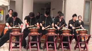 山城組 空 太鼓演奏 ② 2015 0 4 5