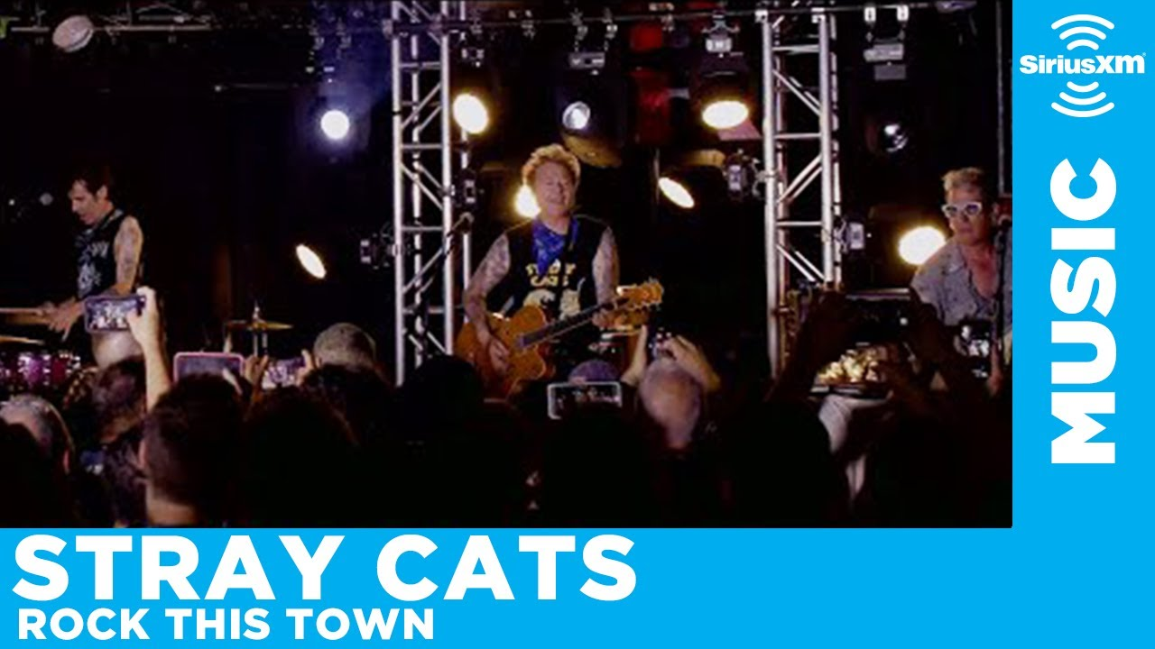 "Stray Cats - ""Rock This Town""のライブ映像を公開 (Revolution Music Hall) thm Music info Clip"