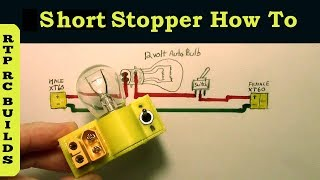 Smoke Stopper current limiter protection - What is it and How to Build for RC quadcopter or airplane