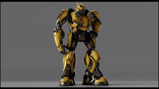 Bumblebee (2018) - Generation 1 Design - Paramount Pictures