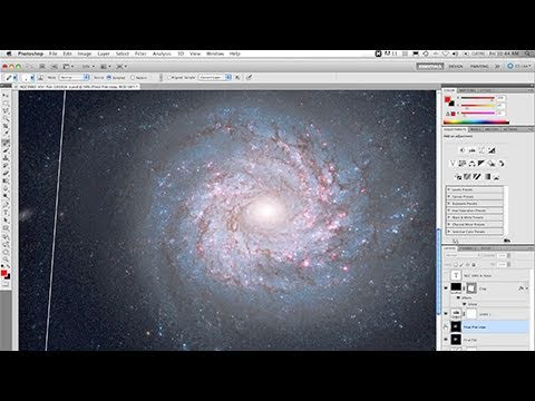 Thumbnail of video Creating a Hubble Galaxy in Two Minutes