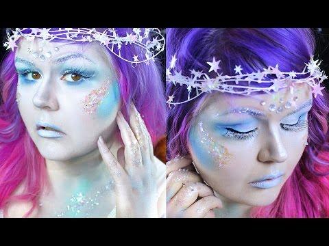 Ice Queen Halloween Makeup Tutorial