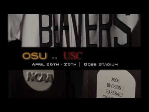 OSU Baseball hosts USC, 4/26 - 4/28