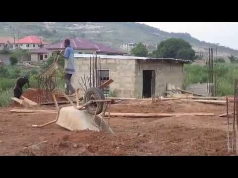 Building Project in Ghana Update: Foundation Filling Complete