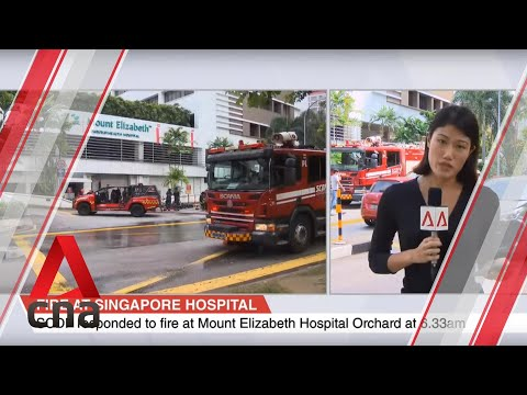 Fire breaks out at Mount Elizabeth Hospital at Orchard Road