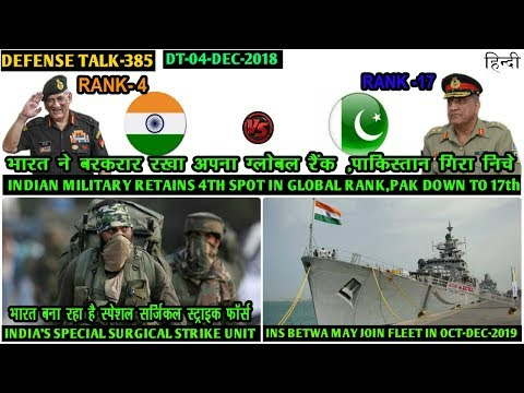 Indian Defence News:Indian vs Pakistan Global military power,Akash NG,INS Betwa,Surgical Strike unit