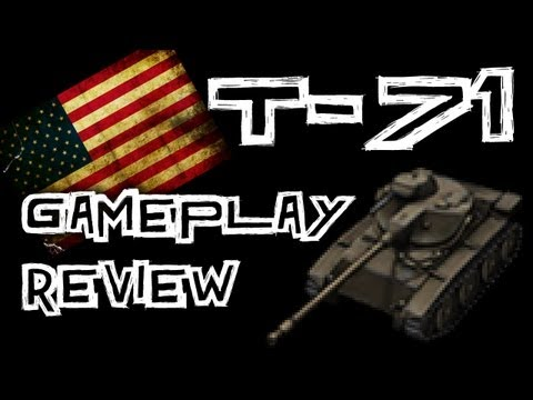 World of Tanks    T71 Gameplay Review