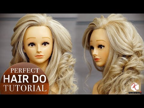 Perfect Hair Do Tutorial | Step by Step Party Hairstyle Tutorial Videos | Krushhh by Konica
