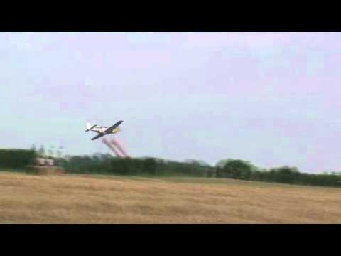P-51 Mustang Screaming Low and Fast