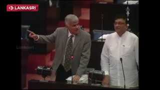 Ranil Speech In Parliament