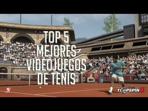 Top 5 - Mejores Videojuegos De Tenis De La Historia