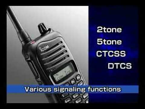 Icom IC-F3020 portable radio introduction IC-F3022; IC-F4022