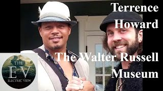 Terrence Howard and the Walter Russell Museum