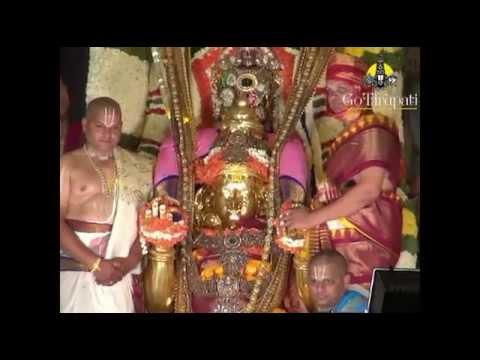 Tirumala Brahmotsavam Garuda Vahana Seva 2015